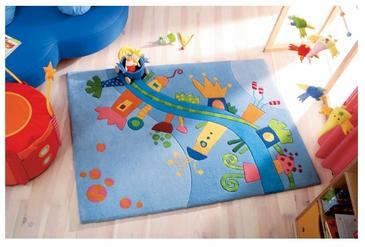 طرح های فرش اتاق کودک