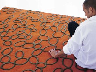 فروش 2500 متر مربع فرش ماشینی پلی استر