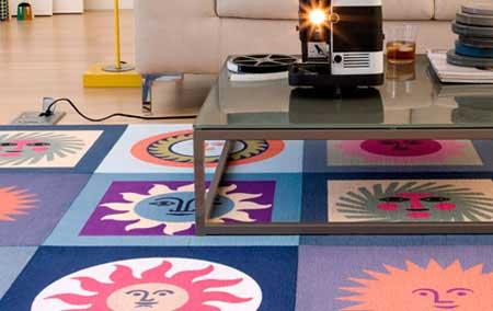 جدید ترین مدل های کاشی فرش ها - کارپت تایل ها